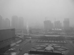 View of Beijing January 20, 2008